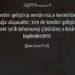 Şems suresi 9 ve 10. ayetler - Kim kendini geliştirip arındırırsa...
